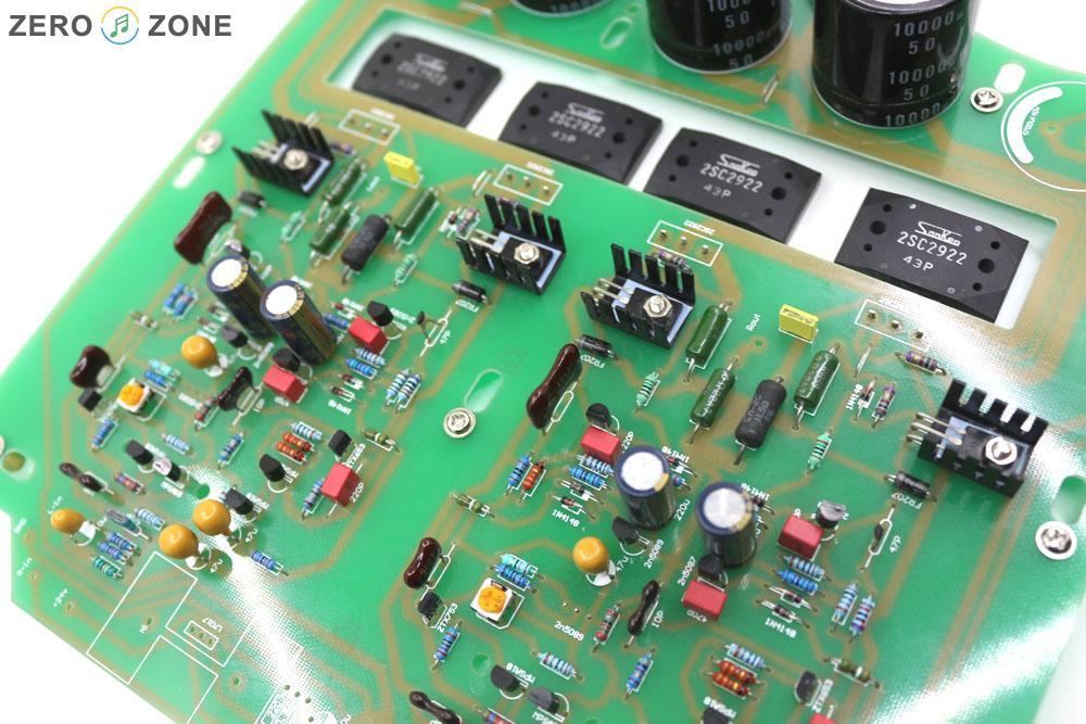 GZLOZONE assemblé boîte noire Clone Naim NAP200 amplificateur conseil bricolage amplificateur de puissance 75 W + 75 W - 5