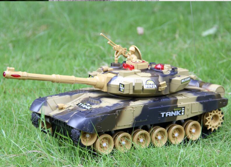rc tank 9995 with sound and light world Remote battle tank Track charging remote control vehicle car model Parent-child toy rc tank battle crawlertank car model remote control tank decor remote control tank remote toys for boys