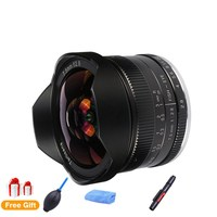 7artisans 7.5mm F2.8 Fisheye Lens 180 Degree Angle Apply to All Single Series for Sony E Mount Micro 4/3 Canon EOS M Cameras