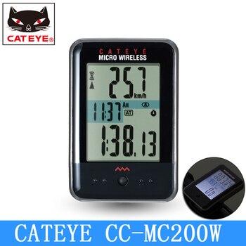CATEYE CC-MC200W, велосипедный микро компьютер, цифровой беспроводной секундомер, велосипедный спидометр, Спортивная подсветка для ночной езды, Яп...