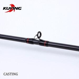 "Image 4 - Kuying Teton L Licht 1.98M 66 ""Zachte Casting Spinning Lokken Hengel Pole Cane Carbon Medium Snelle Actie forel 2 10G Fuji"