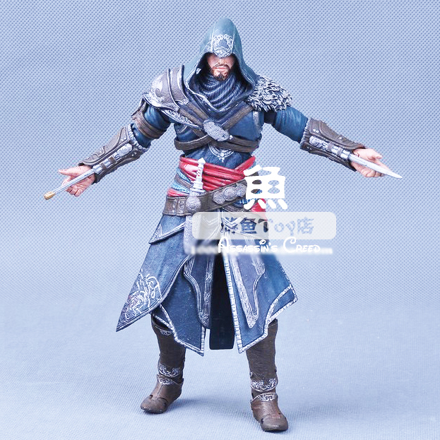 Genuine high quality NECA Assassins Creed Altair Ezio Connor 15cm 7 4 Style pvc action figures classic toys for kids children patrulla canina with shield brinquedos 6pcs set 6cm patrulha canina patrol puppy dog pvc action figures juguetes kids hot toys