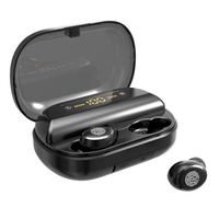 V11s Bluetooth 5.0 Earphones Wireless Auto Pairing Headset for iPhone Samsung Bluetooth Earbuds with Charging Case