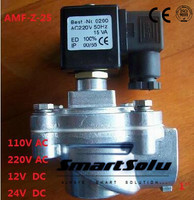 Free shippingASCO Type Valve Pulse Solenoid Valve Right Angle Valve AMF-Z-25 1'' inch 110V AC