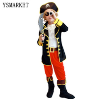 Children Cosplay Halloween Costume Role Children Party Clothes Pirate Costume Boy Kids Gifts New Year Christmas
