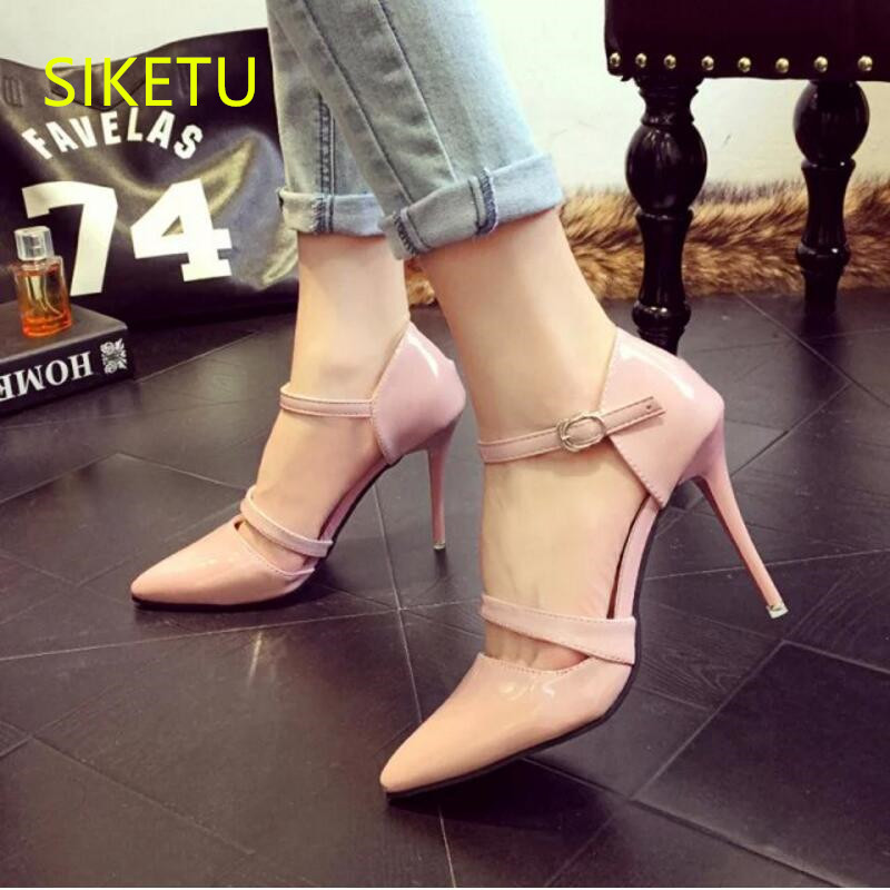 SIKETU 2017 Free shipping Spring and autumn Women shoes fashion High heels shoes Wedding shoes sex pumps g226 siketu 2017 free shipping spring and autumn women shoes fashion high heels shoes wedding shoes sex was thin pumps g230