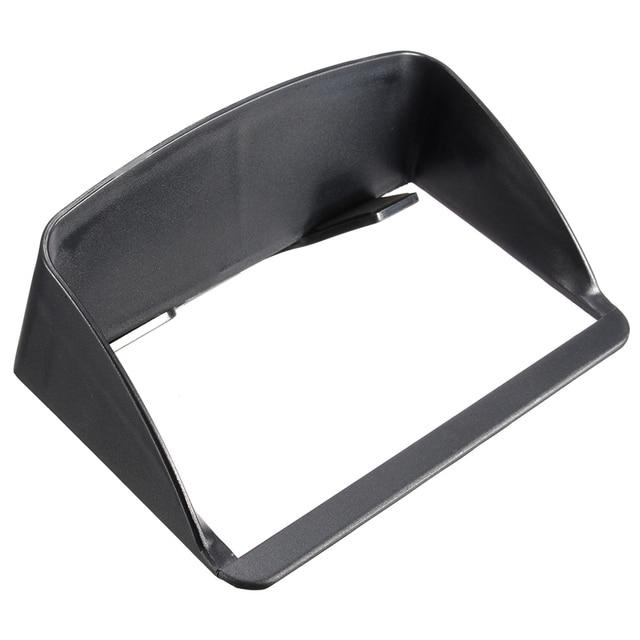 Universal Car GPS Sunshield 7 inch Portable Anti Glare Screen Sun Shield  Visor Hood For 7 891e9cb0085