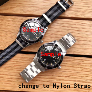 Image 4 - 20mm High Quality Nylon Canves Watch Strap Customized Style For Omega 007 Seamaster 300 Speedmaster 8900 Planet Ocean De Ville