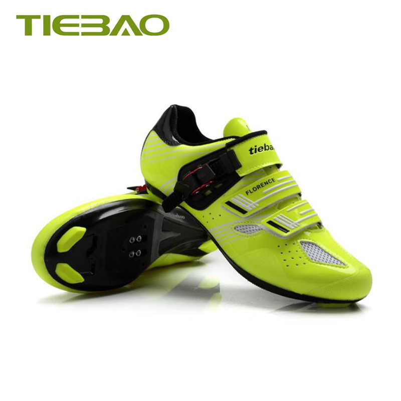 Купить с кэшбэком Tiebao sapatilha ciclismo road cycling shoes self-locking breathable bicicleta sneakers men Athletic bike bicycle riding shoes