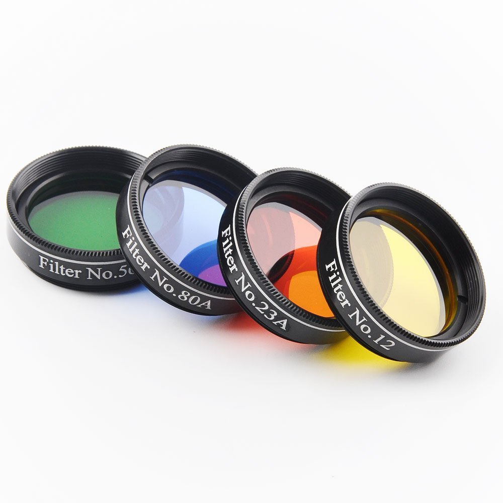 1.25 inch 4pcs Telescope Filter glass nebula filters Set Astronomical Telescope oculares 2 inch lrgb filter glass nebula filters filtro telescopio astronomic astronomical telescope oculares premeier