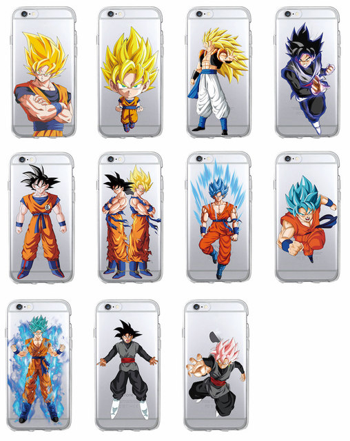 2018 Dragon Ball iPhone Cases (Set 5)