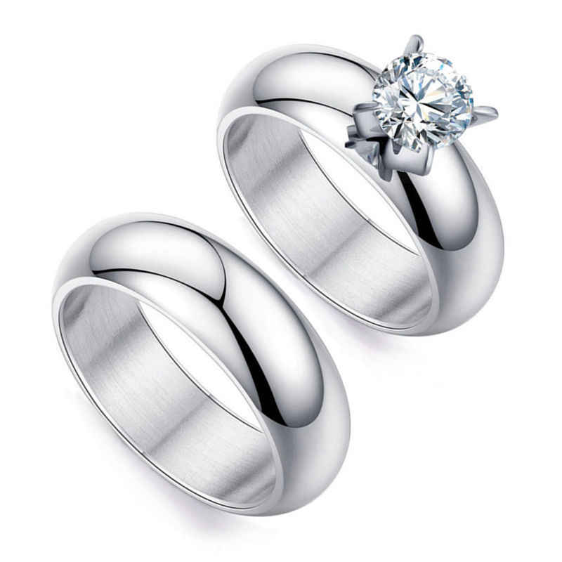 28dcae5f698 Detail Feedback Questions about Romantic Wedding Rings For Lover ...
