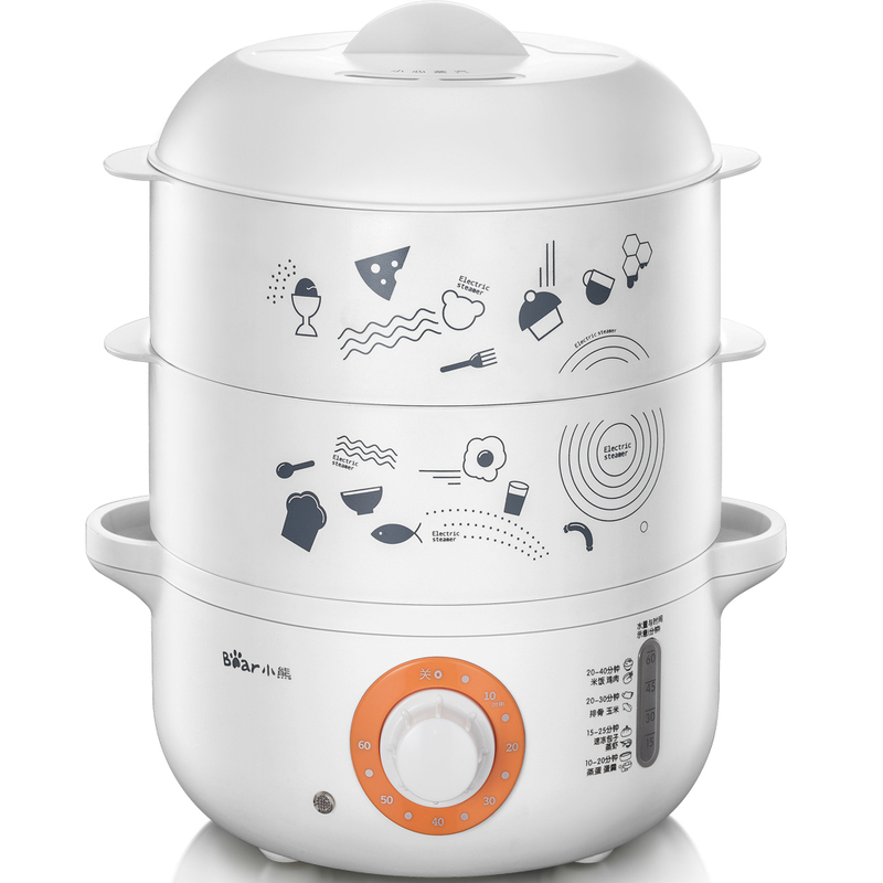 Bear Multi-function Cooker Electric Food Steamer multi function green