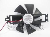 Ventilador de refrigeración del ventilador del calentador ultrafino DC12V0.2A 1225H12S accesorios auténticos originales
