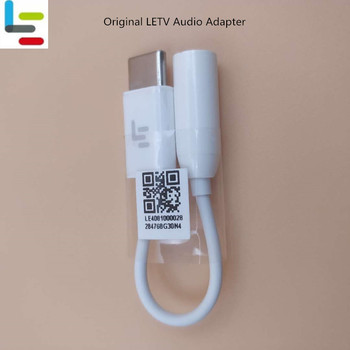 Original LETV LEECO Earphone Adapter USB 3.1 Type C To 3.5mm Headphone jack Connector Converter Cable For Le 2s MAX Pro 3S Cool1