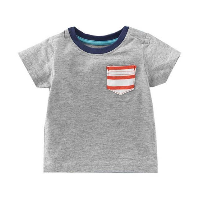 77c5bad9ef805 placeholder Chemise d été Enfants T-shirt Garçons Filles T-shirt Bébé  Vêtements Designer