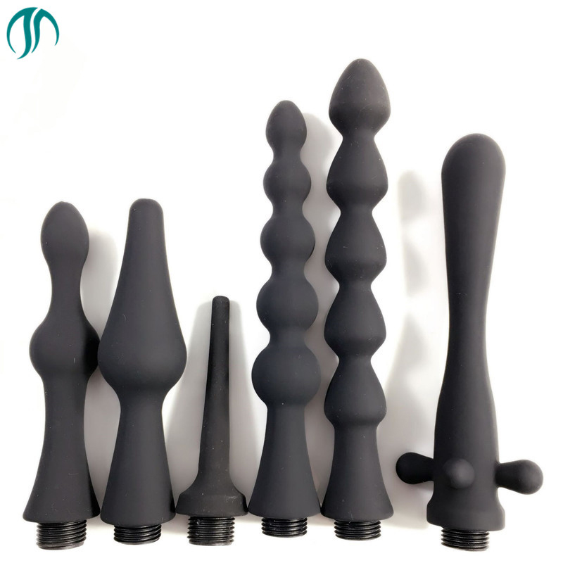Modun Shower Enema Anal Cleaning Anus Vaginal Cleaner Douche Silicone Nozzle Toilet Bidet Shower Tip Portable Bidet sprayerModun Shower Enema Anal Cleaning Anus Vaginal Cleaner Douche Silicone Nozzle Toilet Bidet Shower Tip Portable Bidet sprayer