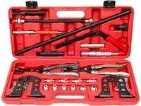 Cylinder Head Service Valve Spring Compressor Remover OHV OHC Engine Repair Set