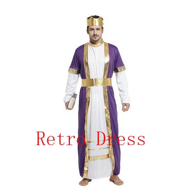 Halloween Jesus Zeus Costume Deluxe King Costume Adult Deluxe Bible King Costume halloween costumes for men  sc 1 st  AliExpress.com & Halloween Jesus Zeus Costume Deluxe King Costume Adult Deluxe Bible ...