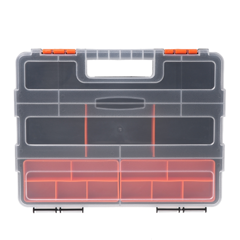 Plastic Carry Tool Storage Case Spanner Screwdriver Parts Hardware Organizer Box #Aug.26