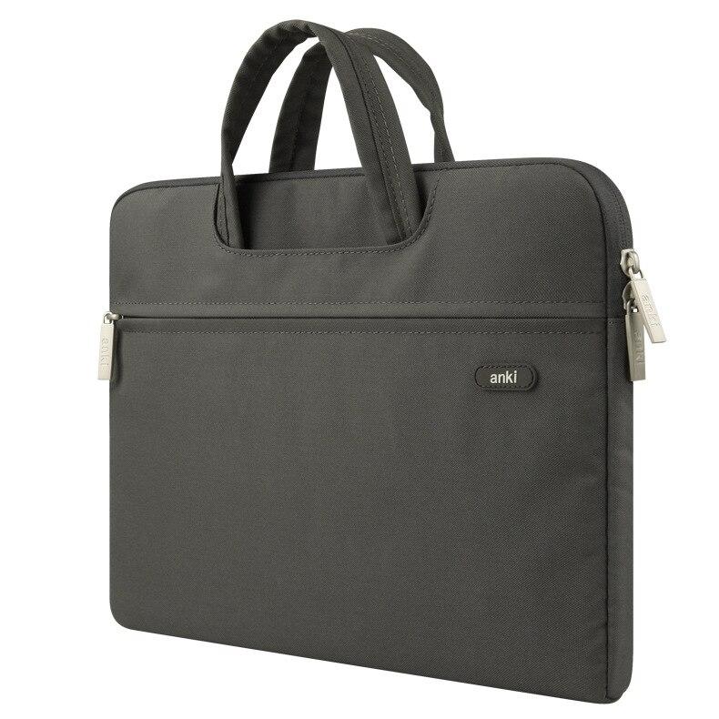 Anki 2017 New Brand Notebook Handbag Sleeve Cover for macbook pro 13 Laptop Brie