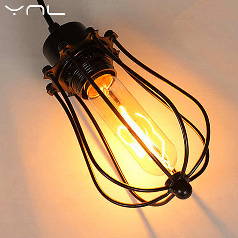 Американский Стиль прикроватные антикварная настенная лампа с одной головкой E27 Светильники Стеклянная лампочка Промышленный Утюг Винтаж модные Гостиная для лампы дневного света