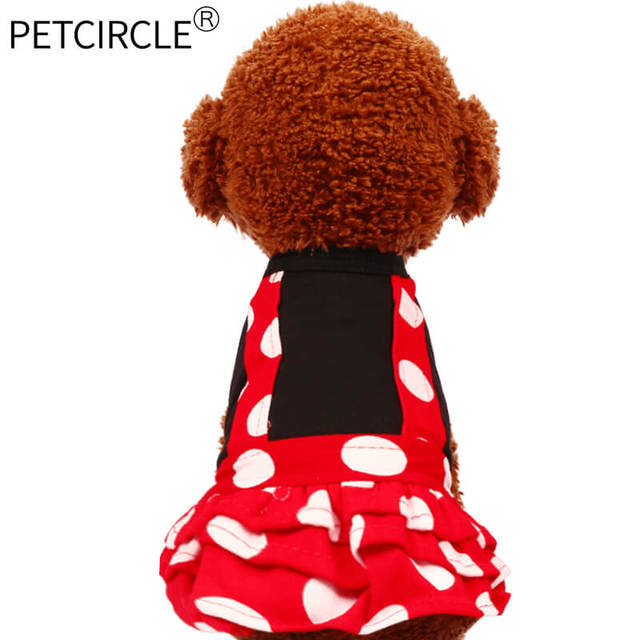 Ddg petcircle nowościach pet ubrania śliczne pet dog suknie lato koszula pet products pies chihuahua pudel freeshipping