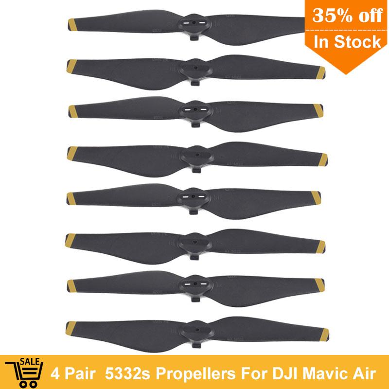 New Arrival 4 pair 8 pcs 5332s DJI Mavic Air Propeller propellers Blade prop for DJI Mavic Air Drone Accessories