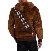 Star Wars I Am Chewie Chewbacca Furry Costume Hoodie Jacket Cosplay