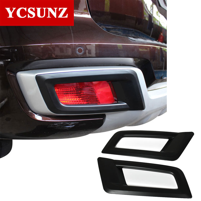 2016 2019 For Ford Everest Endeavour Front Fog Lights Cover For Ford Everest Decorative Lamp Hood Suitable Ford Endeavour Ycsunz