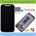 LL TRADER Touch Screen Black Touch Screen for Motorola E2 E+1 XT1505 LCD Display Digitizer Assembly Replacement Parts+Toolkits