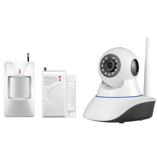 New 433Mhz Wireless IP Camera Night Vision Audio Recording Network  Indoor WiFi Camera