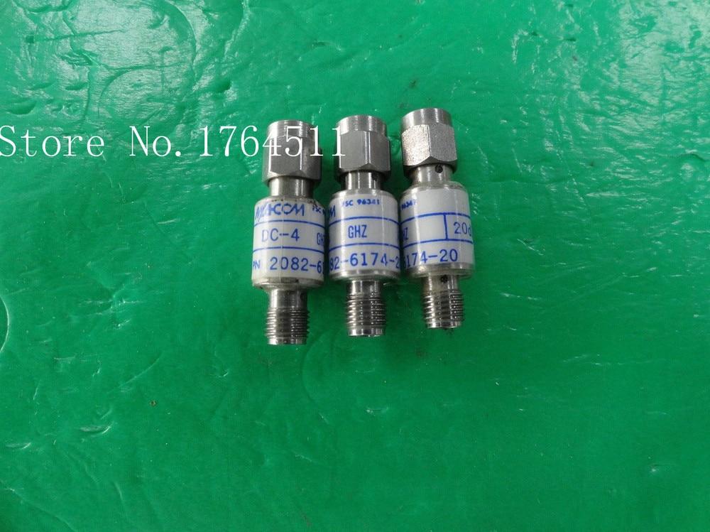 [BELLA] M/A-COM 2082-6174-20 DC-4GHz 20dB 2W RF Coaxial Fixed Attenuator SMA  --5PCS/LOT