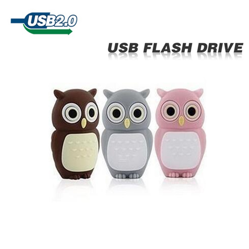 pen drive owl 4gb 8gb 16gb 32gb 64gb bulk usb flash drive flash memory stick u disk pendrive. Black Bedroom Furniture Sets. Home Design Ideas