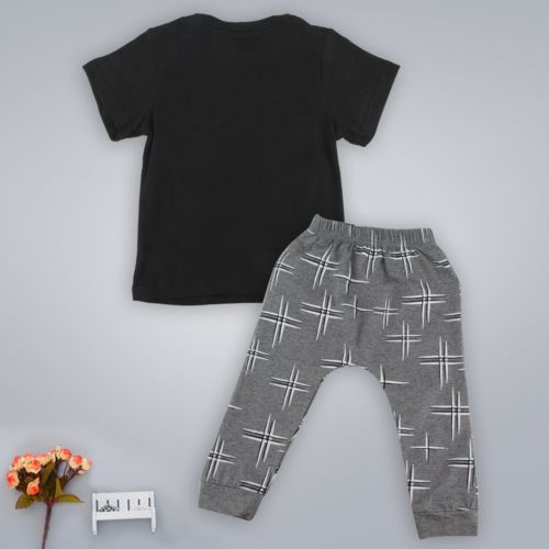 226da8e52 Toddler Baby Infant Mamas Boys Clothes Sets Cute Fashion T Shirts Tops  Pants Summer 2Pcs Outfit Sets Newborn 3 6 9 12 18 24M-in Clothing Sets from  Mother ...