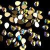 144pcs 72pcs Crystal Beauty Sticker Nail Drop Flat Bottom Charming DIY Manicure Glitter Nail Art Rhinestone