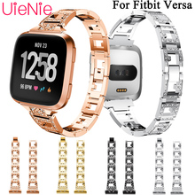 For Fitbit Versa smart watch strap replacement wristband aluminum bracelet for watchband accessories