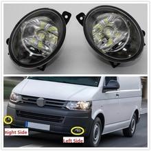 Автомобиль светодио дный свет для VW Transporter Multivan Caravelle T5 T6 2010 2011 2012 2013 2014 2015 Автомобиль-Стайлинг спереди светодио дный противотуманных фар