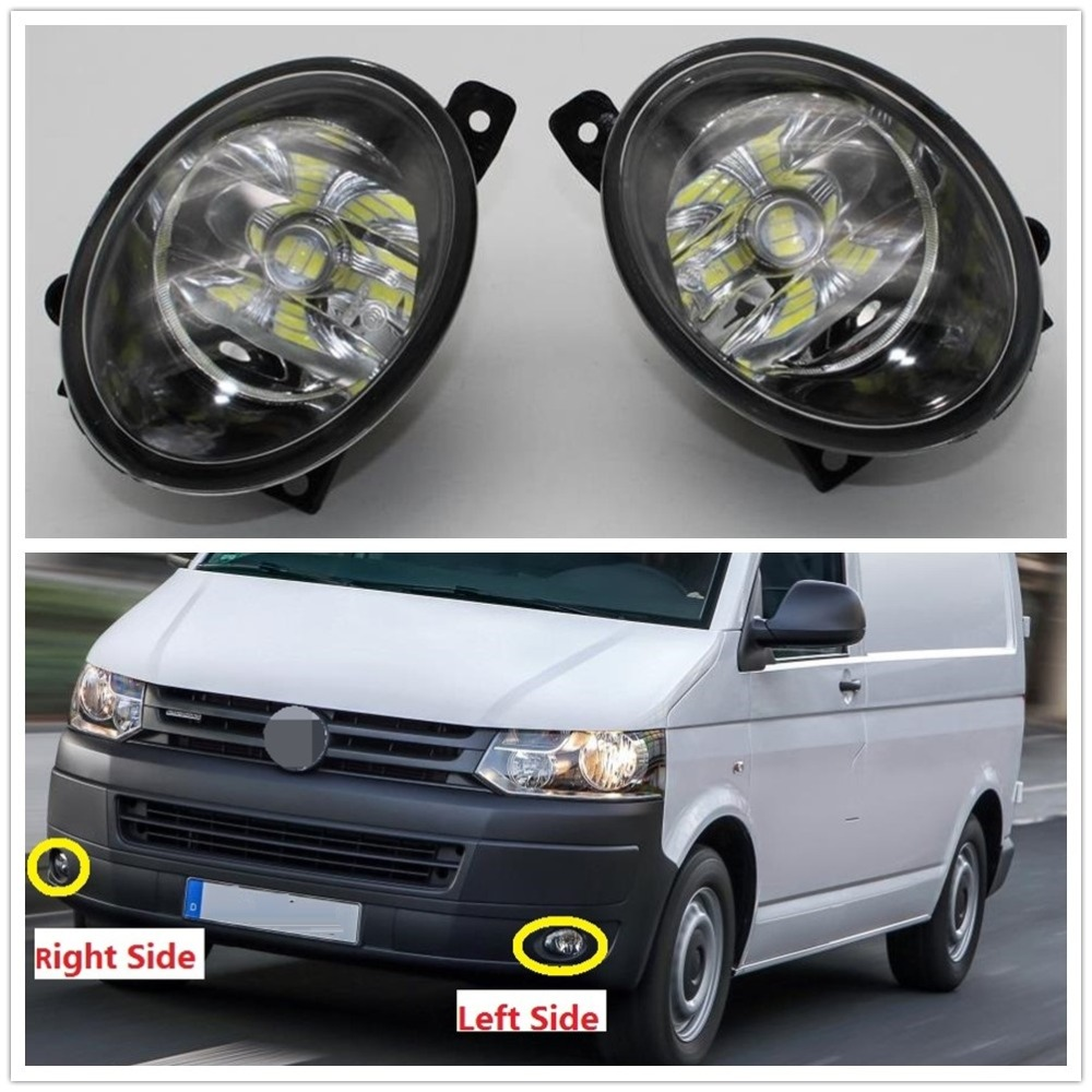 Car LED Light For VW Transporter Multivan Caravelle T5 T6 2010 2011 2012 2013 2014 2015 Car-Styling Front LED Fog Light Fog Lamp