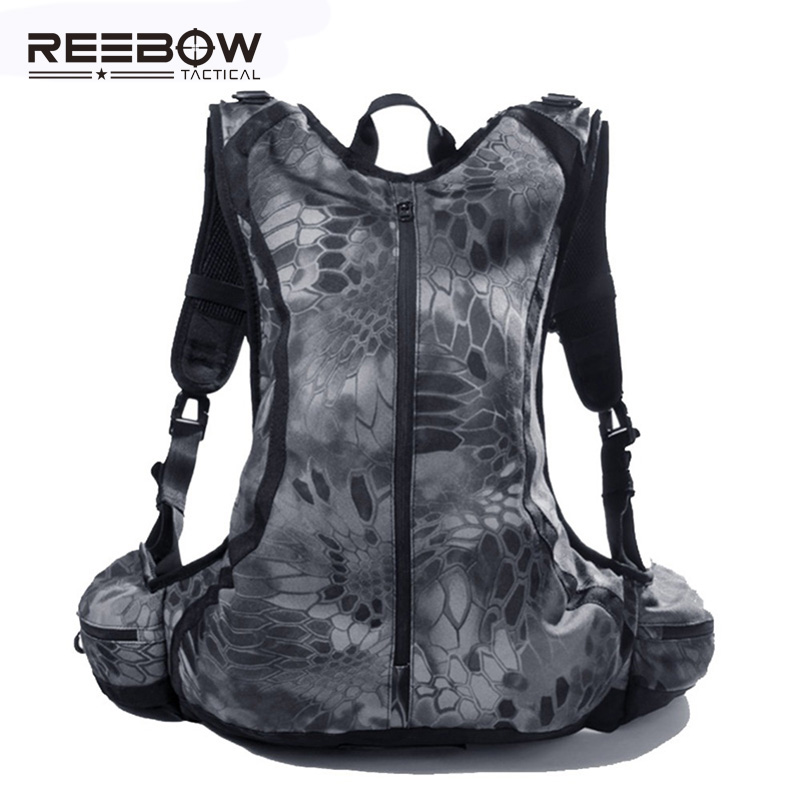 ФОТО 20L Tactical Outdoor Hunting Backpack Men Women Sports Camouflage Cycling Motorcycle Rucksack Riding Airsoft Paintball Bike