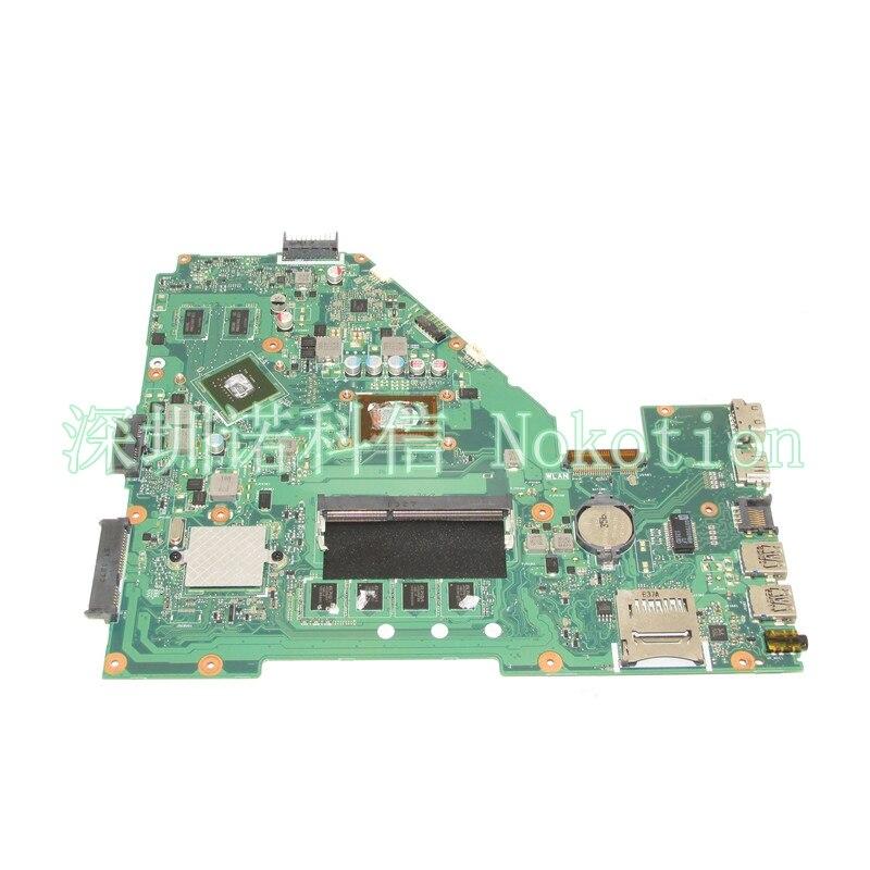 NOKOTION For board X550CL main board laptop motherboard GT710M HM76 HD4000 SR109 Celeron 1007U nokotion 645386 001 laptop motherboard for hp dv7 6000 notebook pc system board main board ddr3