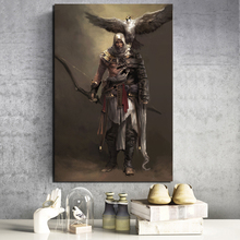 Assassins Creed Origins Art Wall Art Canvas Painting Posters Prints Modern Painting Wall Picture For Living Room Home Decoration assassins creed leap of faith canvas painting posters prints marble wall art painting decorative picture modern home decoration