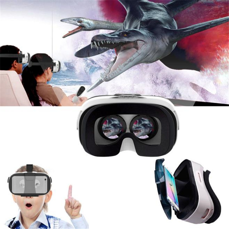 Google Cardboard Virtual Reality 3D Glasses Adjustable For Iphone 6S 6 plus 4.0-6.5 inch smartphone Samsung Huawei Wholesale