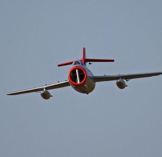 Oyuncaklar ve Hobi Ürünleri'ten RC Uçaklar'de RC EDF Jet Modeli Mig 15 PNP'da  Grup 3