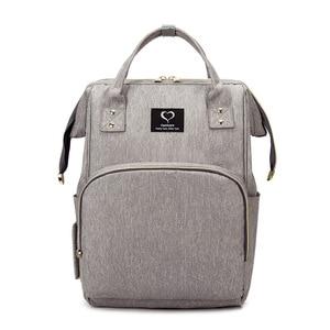 Image 1 - ベビーおむつバッグバックパックママのためのおむつバッグミイラ母性看護バッグ大容量防水旅行ハンドバッグのためのベビーカー