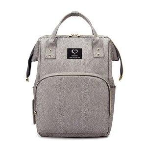 Image 1 - Bolsa de pañales para bebés, mochila para madres, bolsas de pañales, maternidad, lactancia, gran capacidad, impermeable, bolso de viaje para cochecito