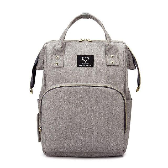 Bolsa de pañales para bebés, mochila para madres, bolsas de pañales, maternidad, lactancia, gran capacidad, impermeable, bolso de viaje para cochecito