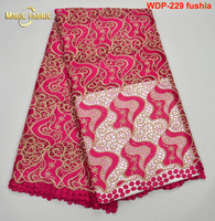 2017 African Lace Fabric For Wedding French Cord Lace Wedding Fabric Guipure Lace Fabric With Stones