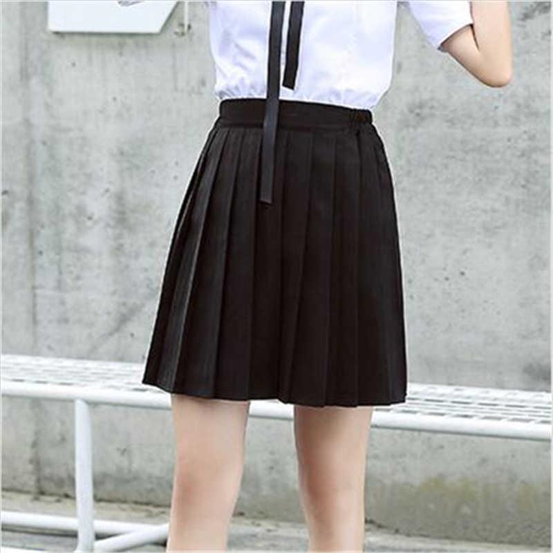 252fa6a506 ELEXS Pleated Skirt Tutu Tennis Skirt Women High Waist Short Skirt College  A Word Lattice Student