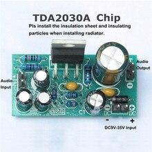 LEORY 18W DC 9V 24V TDA2030A płyta wzmacniacza Audio zestaw Mono Power DIY